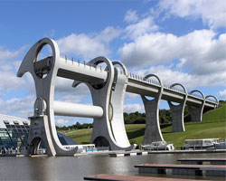 Знаменитые лифты: The Falkirk Wheel