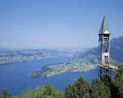 Знаменитые лифты: Hammetschwand Lift