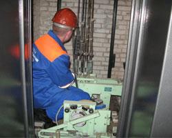 В Мурманске загорелся лифт