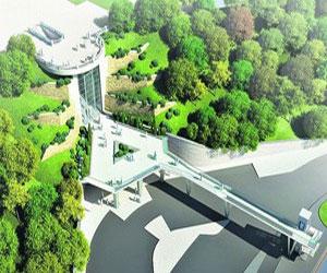 В Мариинском парке появится лифт и пешеходный мостик