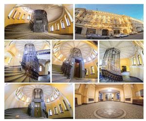Самые красивые лифты Петербурга